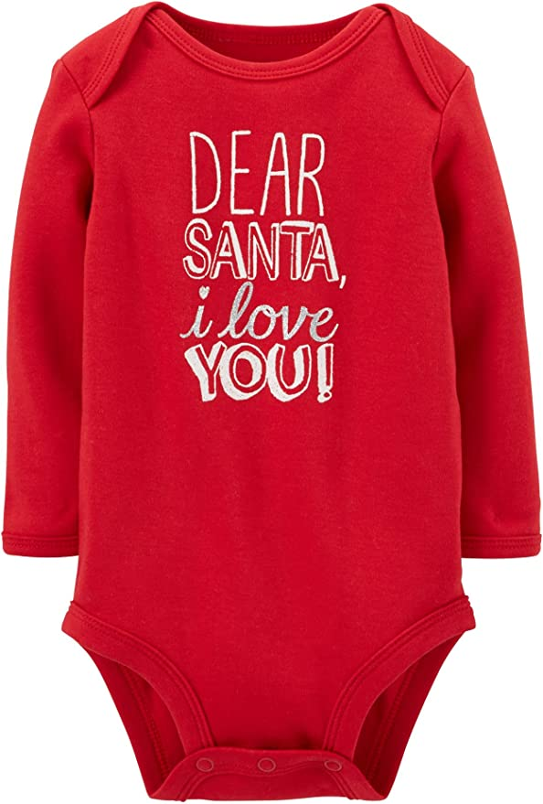 Baby Carters First Christmas Outfit Dear Santa Been Good 3 Months New