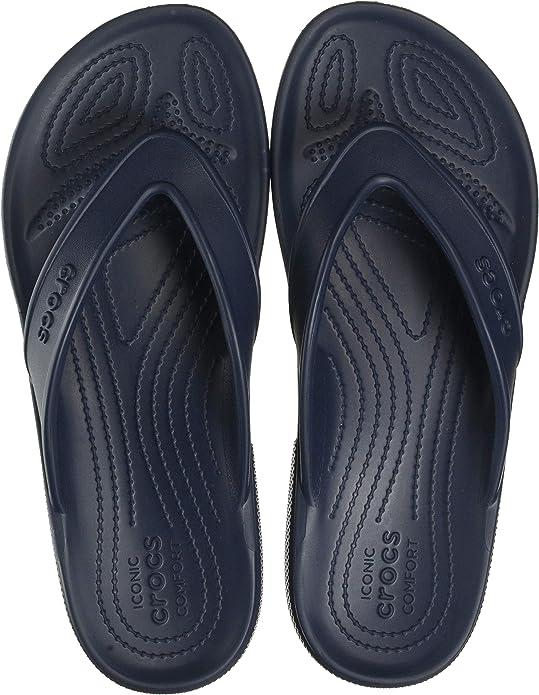 Crocs Unisex Adults' Classic Ii Flip Flops, Blue (Blue), M5 | W6 UK (38/39 EU),Crocs,206119