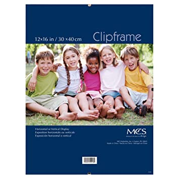 Amazoncom Mcs 12x16 Inch Glass Clip Frame 55216 Home Kitchen