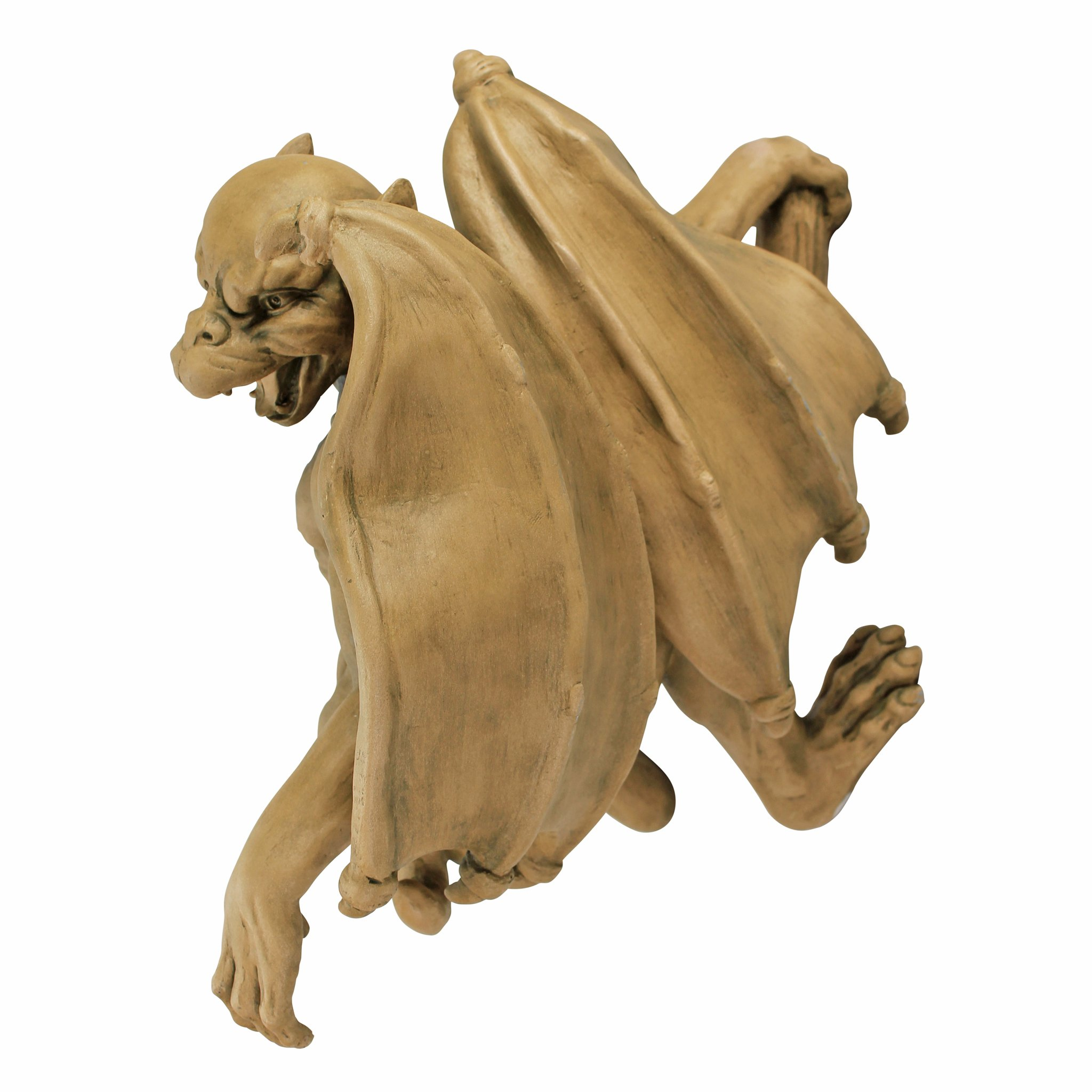 Design Toscano Gaston, the Gothic Gargoyle Climber Sculpture - Large