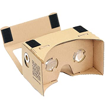 Google cartón Kit de D-Scope Pro (TM) 3d Realidad Virtual Compatible con