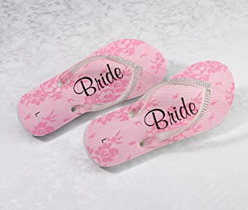 5144e99197df09 lillian rose size small bridesmaid womens flip flops from bed bath ...