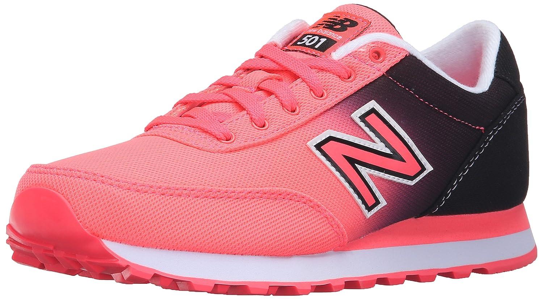 New Balance Women's 501 Classic Running Lifestyle Sneaker B01956B7XI 6.5 B(M) US|Guava/Black