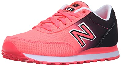 New Balance Womens 501 Classic Running Lifestyle Sneaker       Guava Black