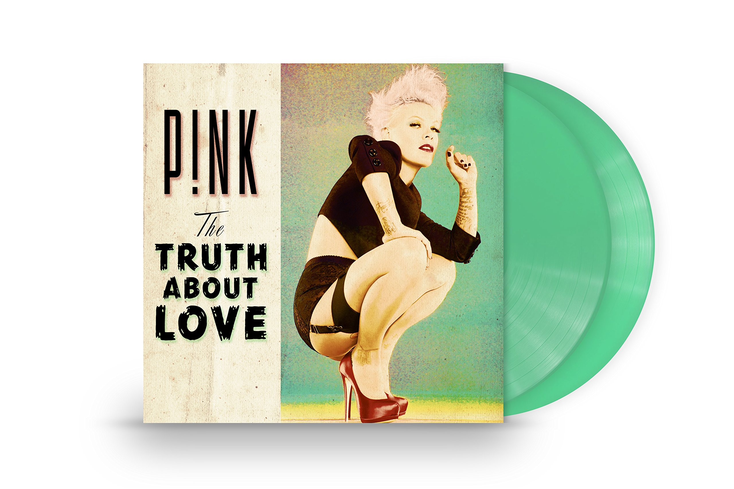 Vinilo : Pink - The Truth About Love (Colored Vinyl, Download Insert, 2PC)