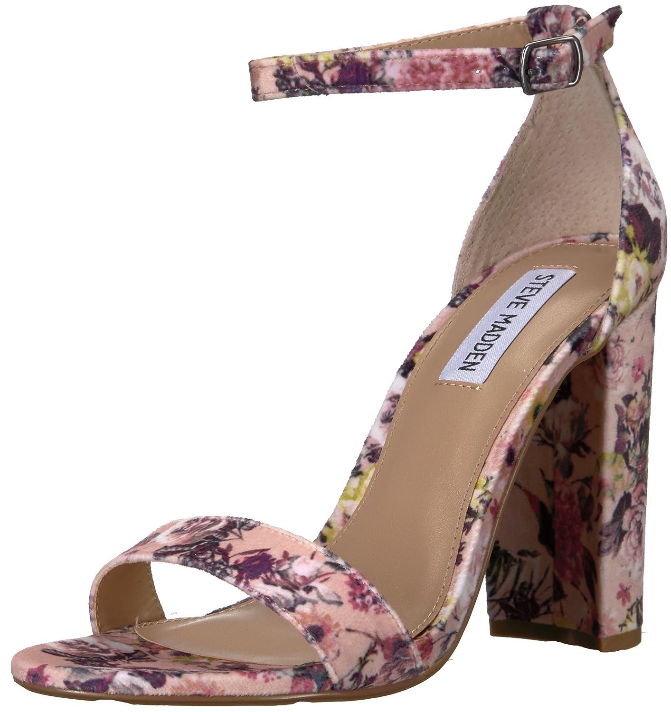 Steve Madden Women's Carrson Dress Sandal B077GY62NG 8 B(M) US Floral-v