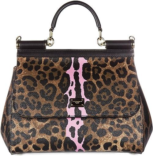 braune damen handtasche dolce gabbana