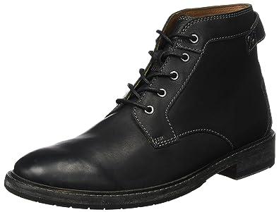 8e0ae6a9d55454 Clarks Clarkdale Bud, Bottes & Bottines Classiques Homme, Noir (Black  Leather),