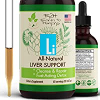 Gentle Liver Cleanse and Detox - All-Natural Liver Support Supplement - Revitalize Your Liver and Your Health - Highly…