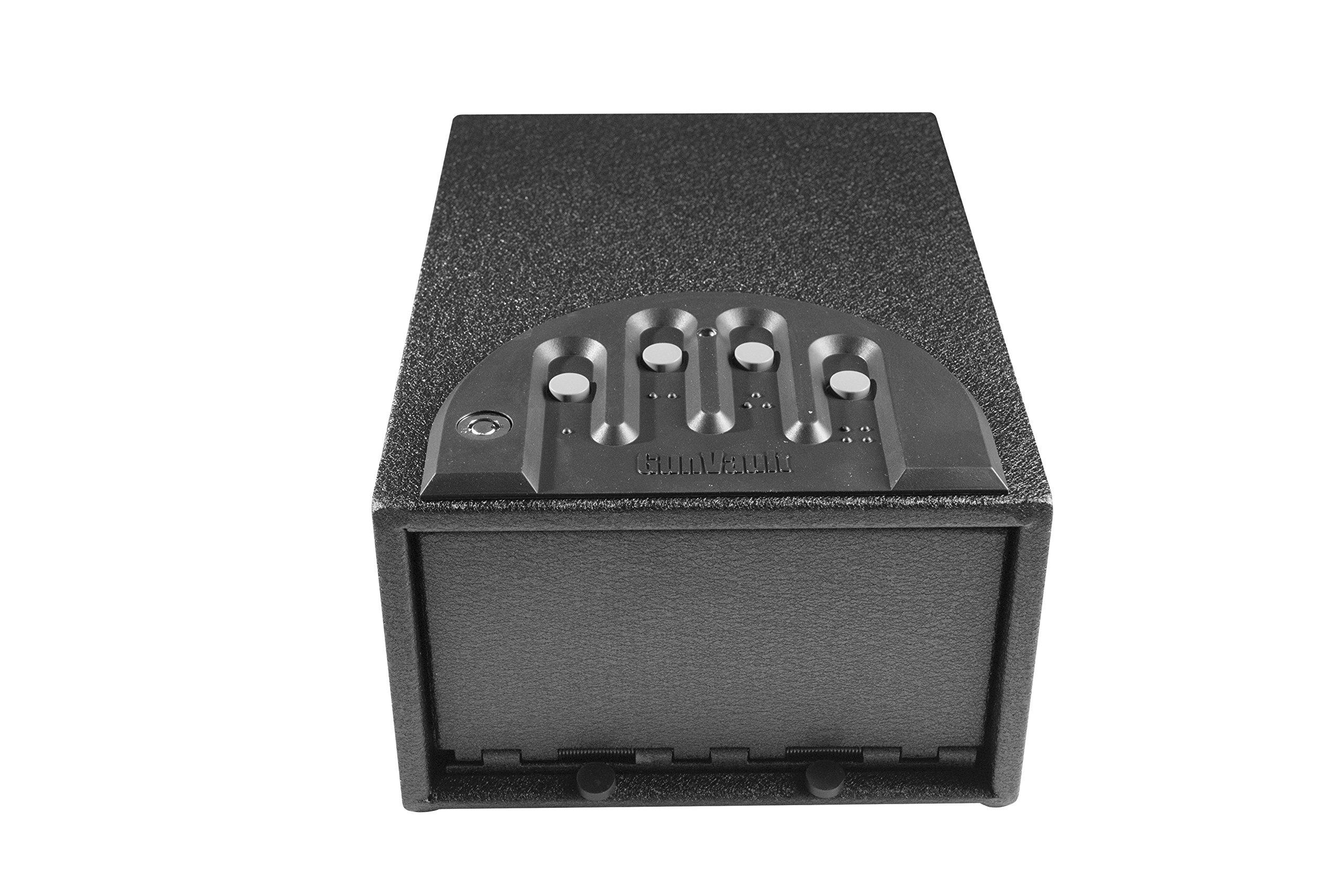 GunVault GV1000C-STD Mini Vault Standard Gun Safe by GunVault (Image #3)