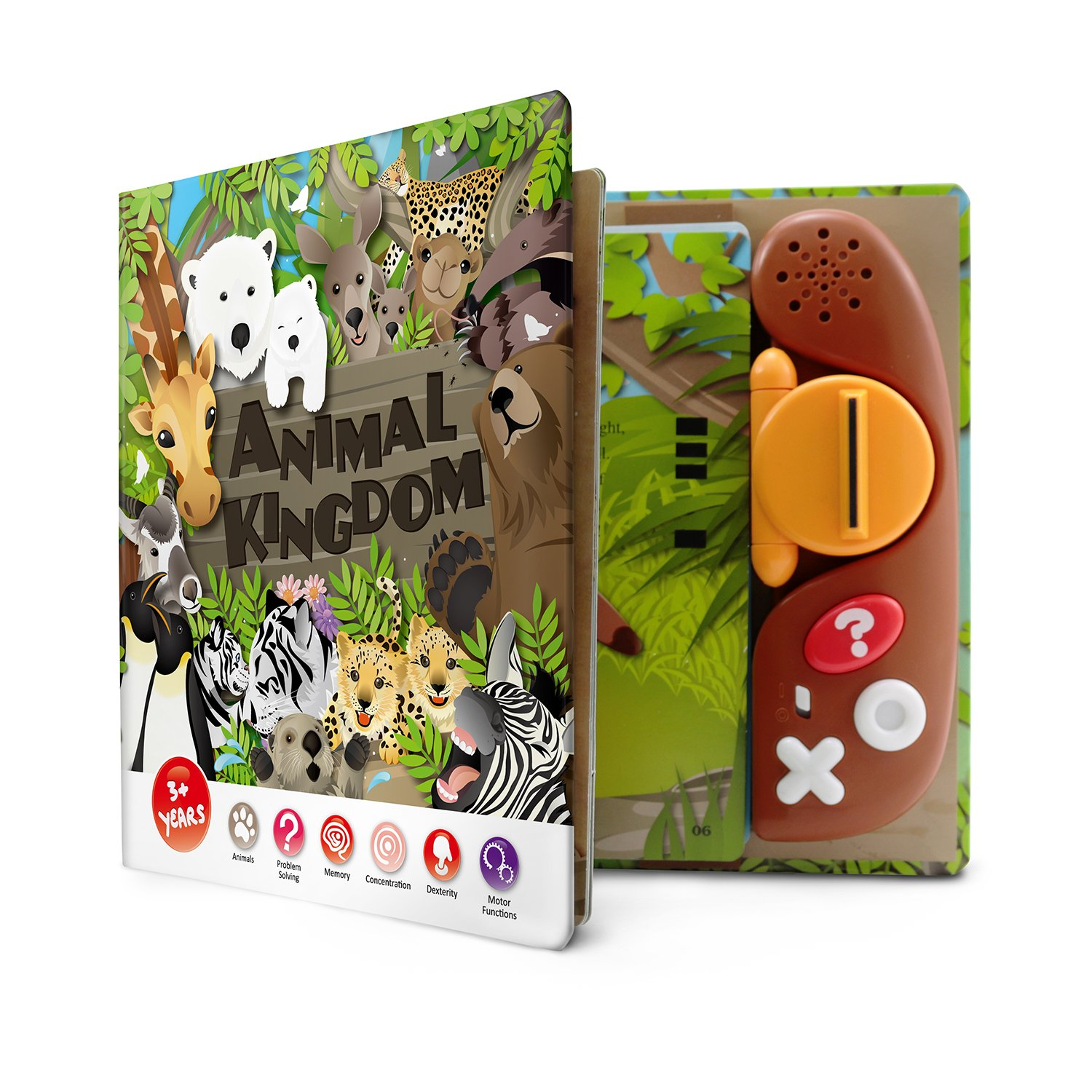 BEST LEARNING Book Reader Animal Kingdom - Educational Talking Sound Toy to Learn About Animals with Quiz Games for Kids Ages 3 to 8 Years Old by BEST LEARNING (Image #6)