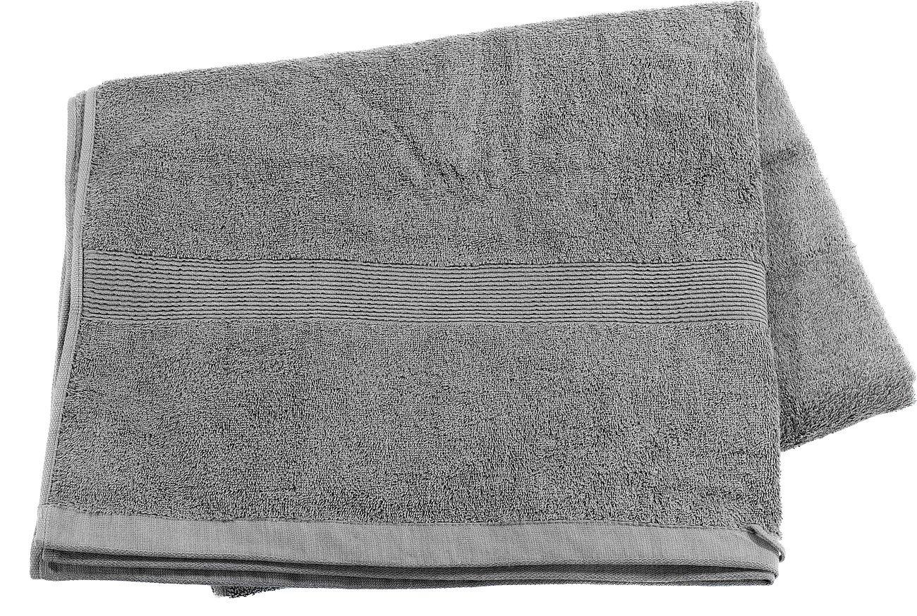 Wilson Gabor Toalla de baño: Toalla de Sauna de algodón de Rizo 220 x 90 cm, Gris (Mini Toalla de Playa): Amazon.es: Hogar