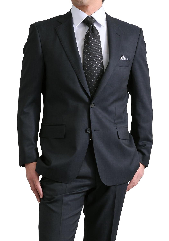 春夏 renoma PARIS ウール100%(Super110's) メンズ 2ツボタン スーツ ワンタック レギュラーフィット スーツ B07B2R339L BB体6号|ブルーグレー ブルーグレー BB体6号