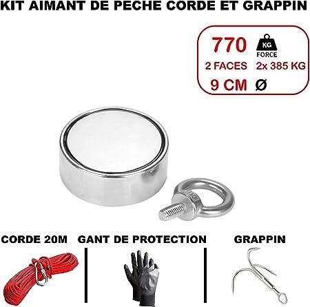 CGGK TECH - Kit de imanes de neodimio para Pesca con Cuerda: Amazon.es: Hogar