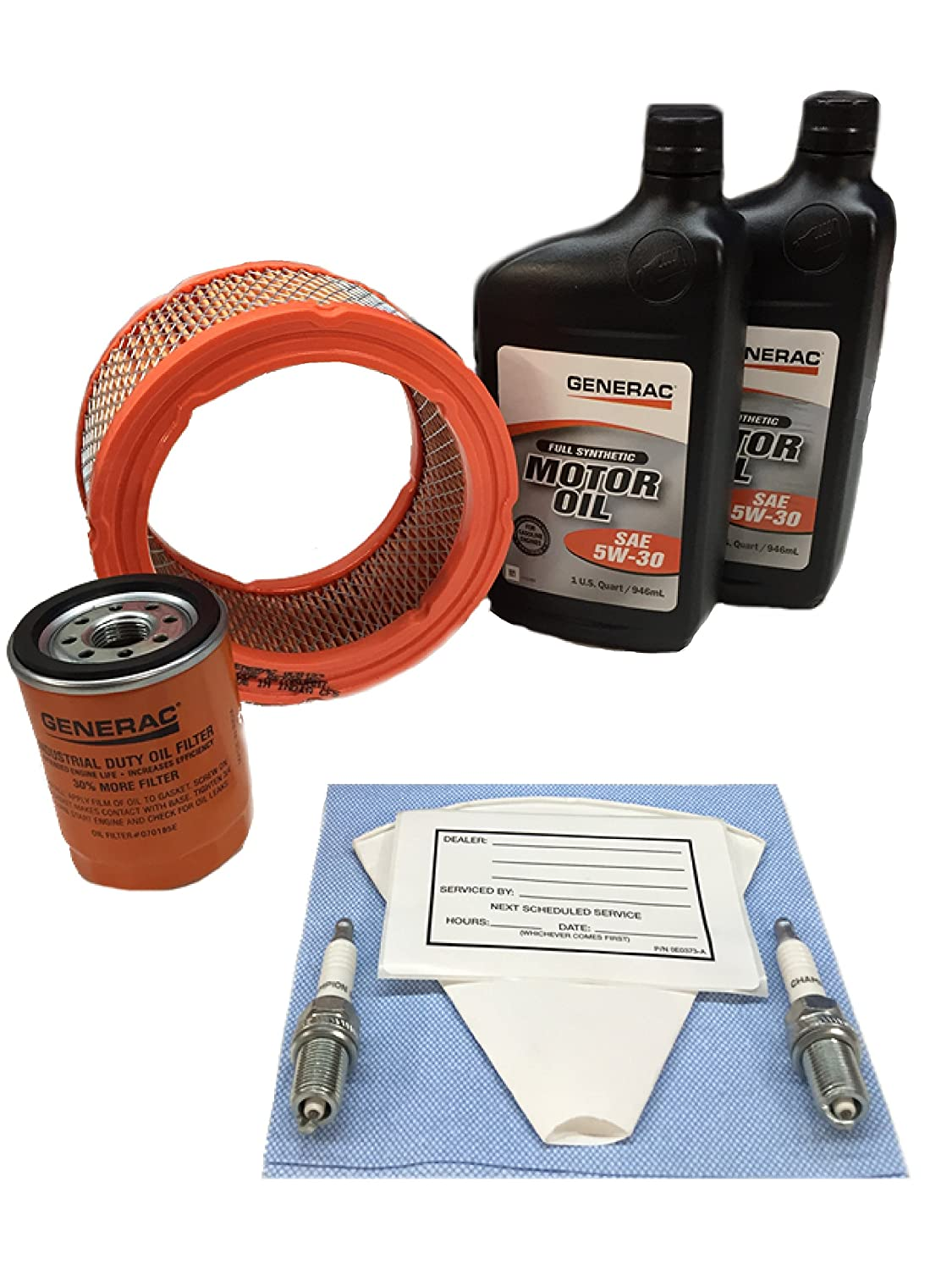 Generac - Scheduled Maintenance KIT 760/990 EXT 5W30 Synthetic Oil - 0J57670SSM