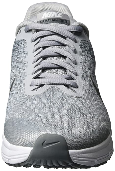 sale retailer 9c208 909c4 Nike Girls Air Max Sequent 2 (Gs) Competition Running Shoes Amazon.co.uk  Shoes  Bags