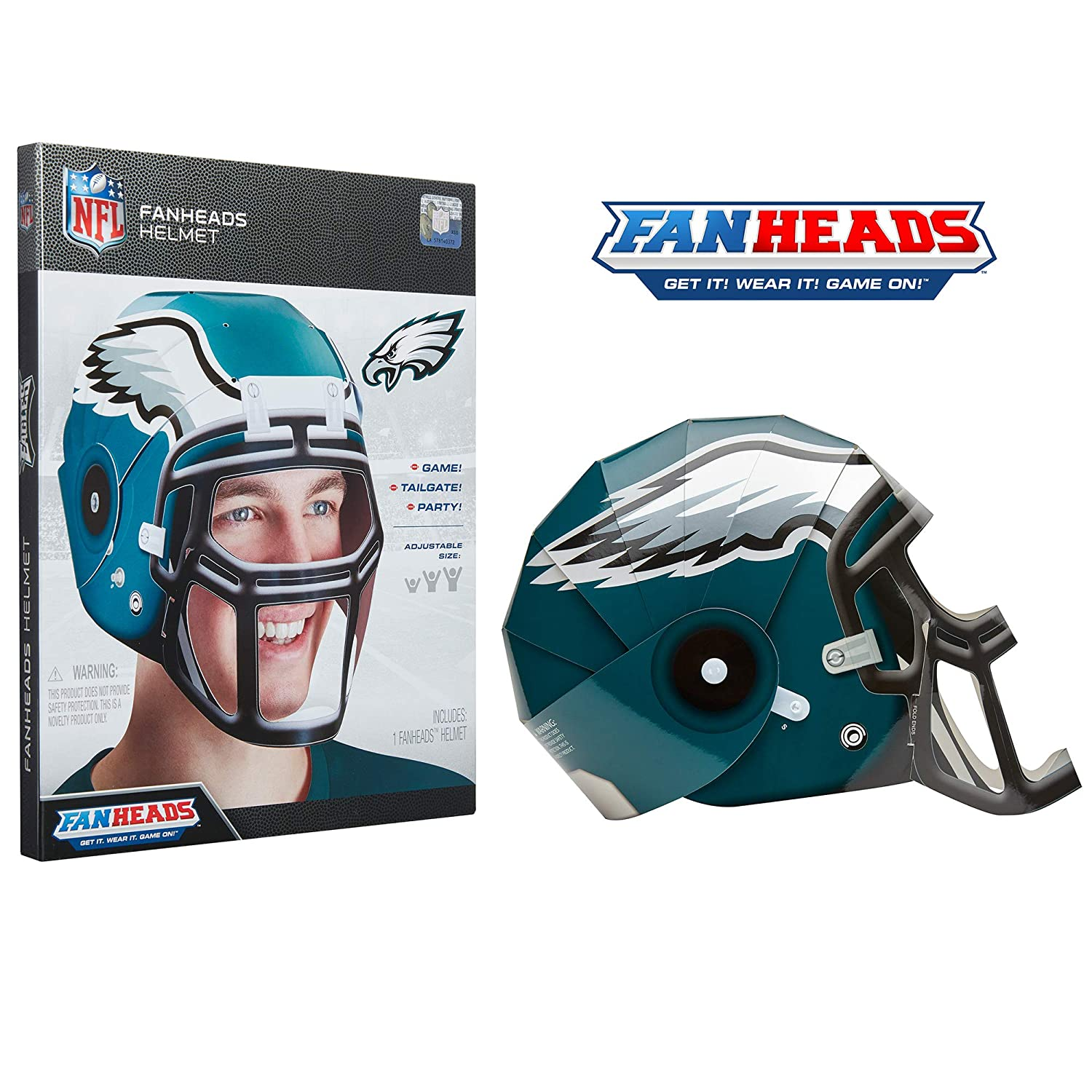 Fan Heads Wearable NFL Replica Helmets – Pick Your Team
