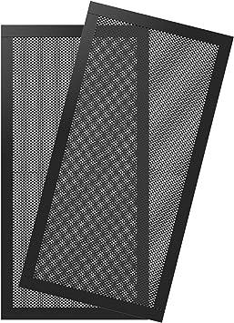 MoKo [2PZS] Filtro de Ventilador de PVC Antipolvo para Caja de ...