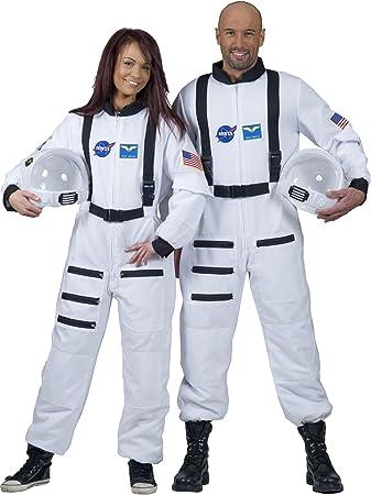 Disfraz astronauta blanco adulto - M: Amazon.es: Juguetes y juegos