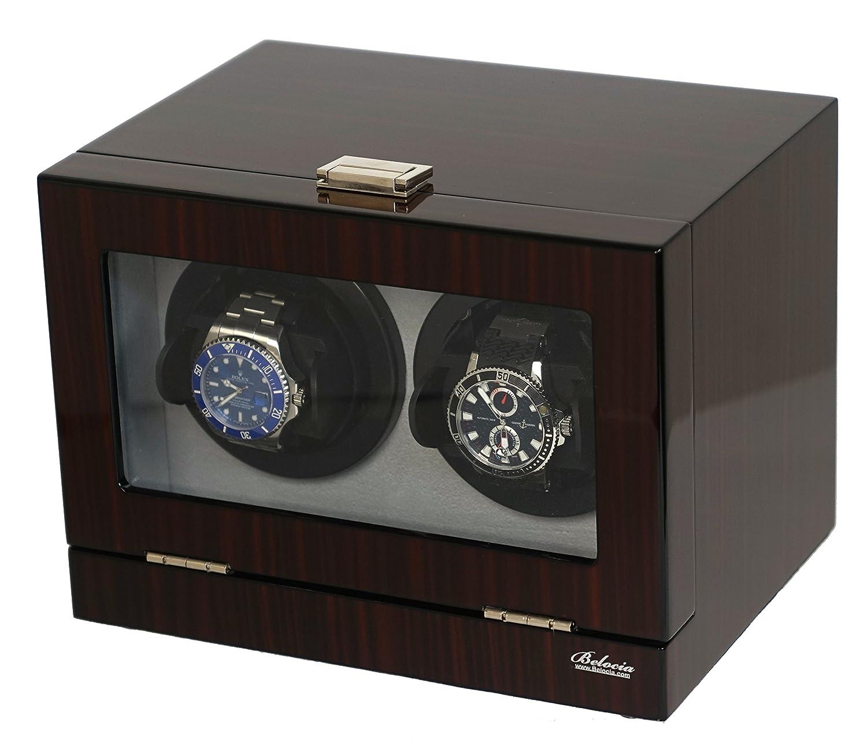 Amazon.com: Acabado de doble para 2 relojes Piano w/Multi ...