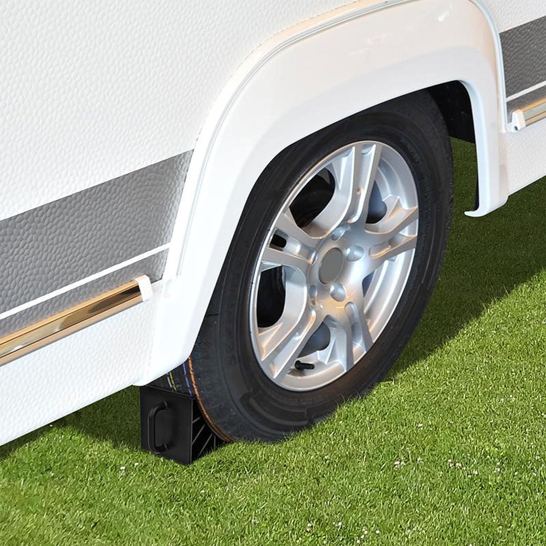 ProPlus zeppa plastica nero set con manico per roulotte camper e rimorchio