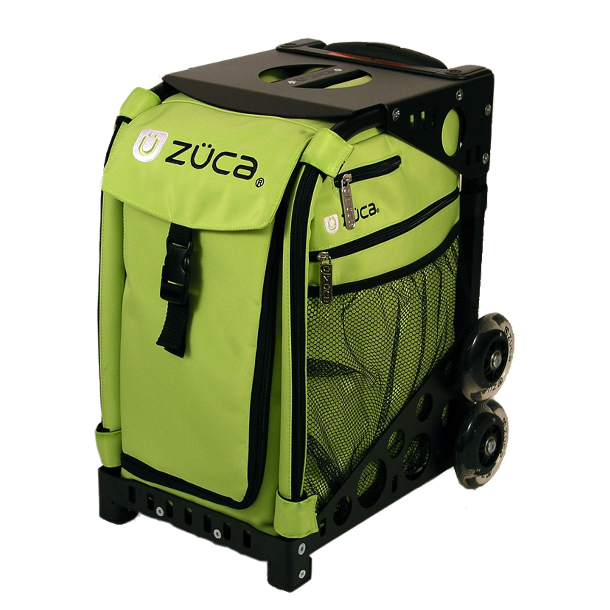 Zuca Sport Insert Bag, Apple (Light Green) with Sport Frame Black by ZUCA