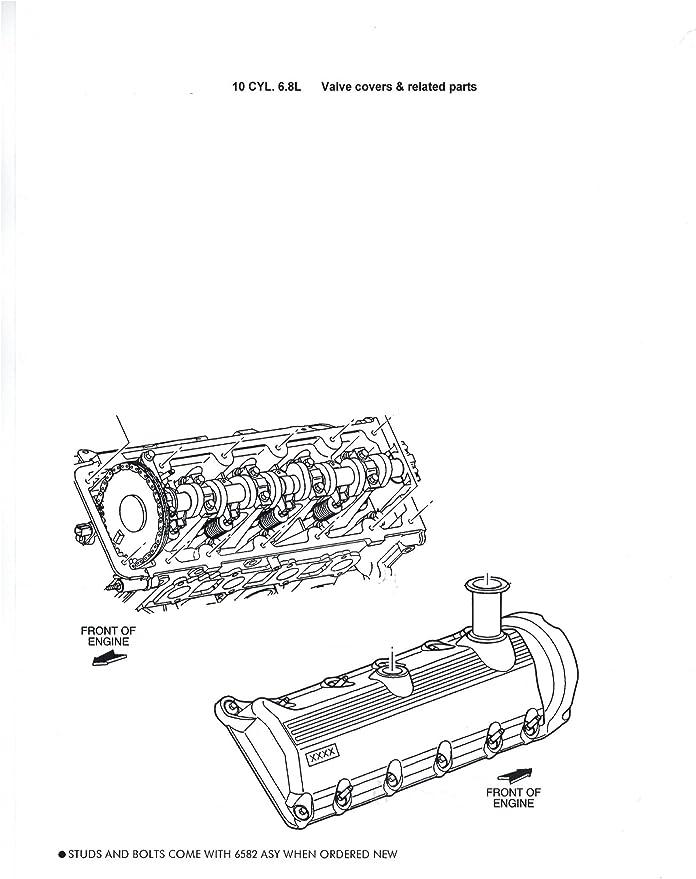 Genuine Ford Valve Cover 1L2Z-6582-CA