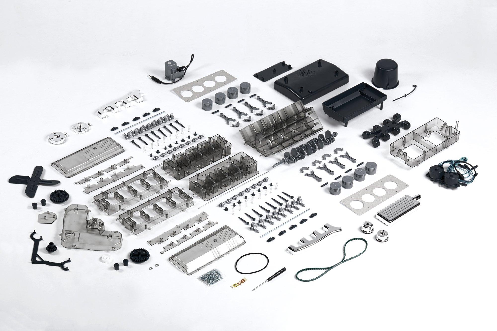 Das FRANZIS Lernpaket V8-Motor: Selber bauen, was Audi, BMW, Porsche ...