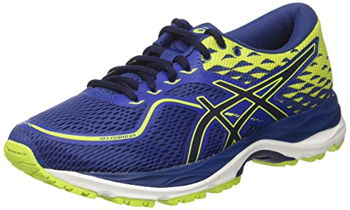 Asics Gel-Cumulus 19, Scarpe Running Donna, Blu (Blue Purple/Black/Flash Coral), 39.5 EU