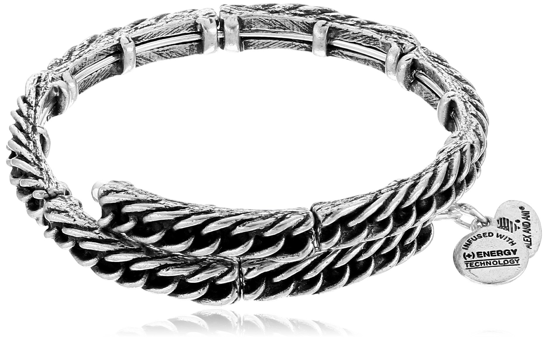 Alex and Ani The Mystical and The Magical Silver Eve Wrap Bracelet