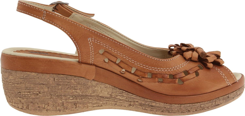 Spring Step / Women's Lolita Sandal B002WTCFXC 37 M EU / Step 6.5-7 B(M)|Medium Brown 503705