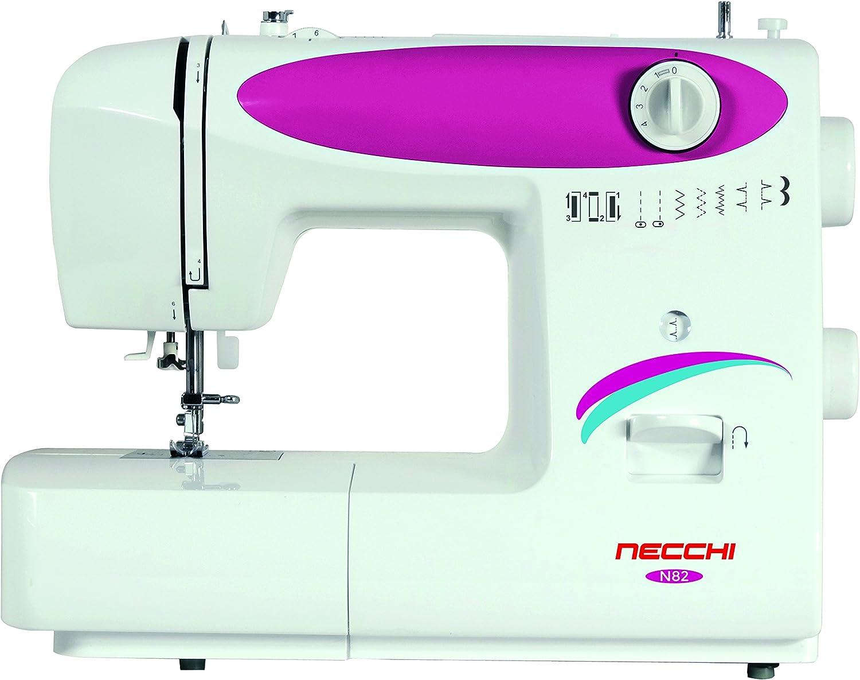 Necchi N82 - Máquina de Coser (Máquina de Coser automática, Rosa ...