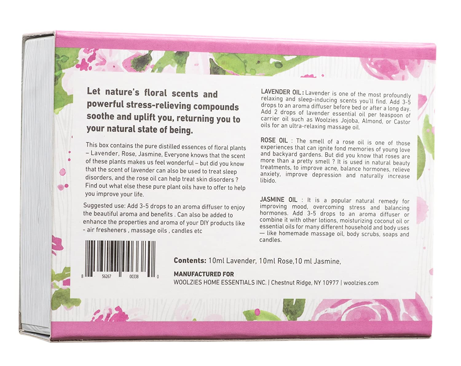 Amazon Woolzies Essential Oil Gift Set Of 3 Essential Oils