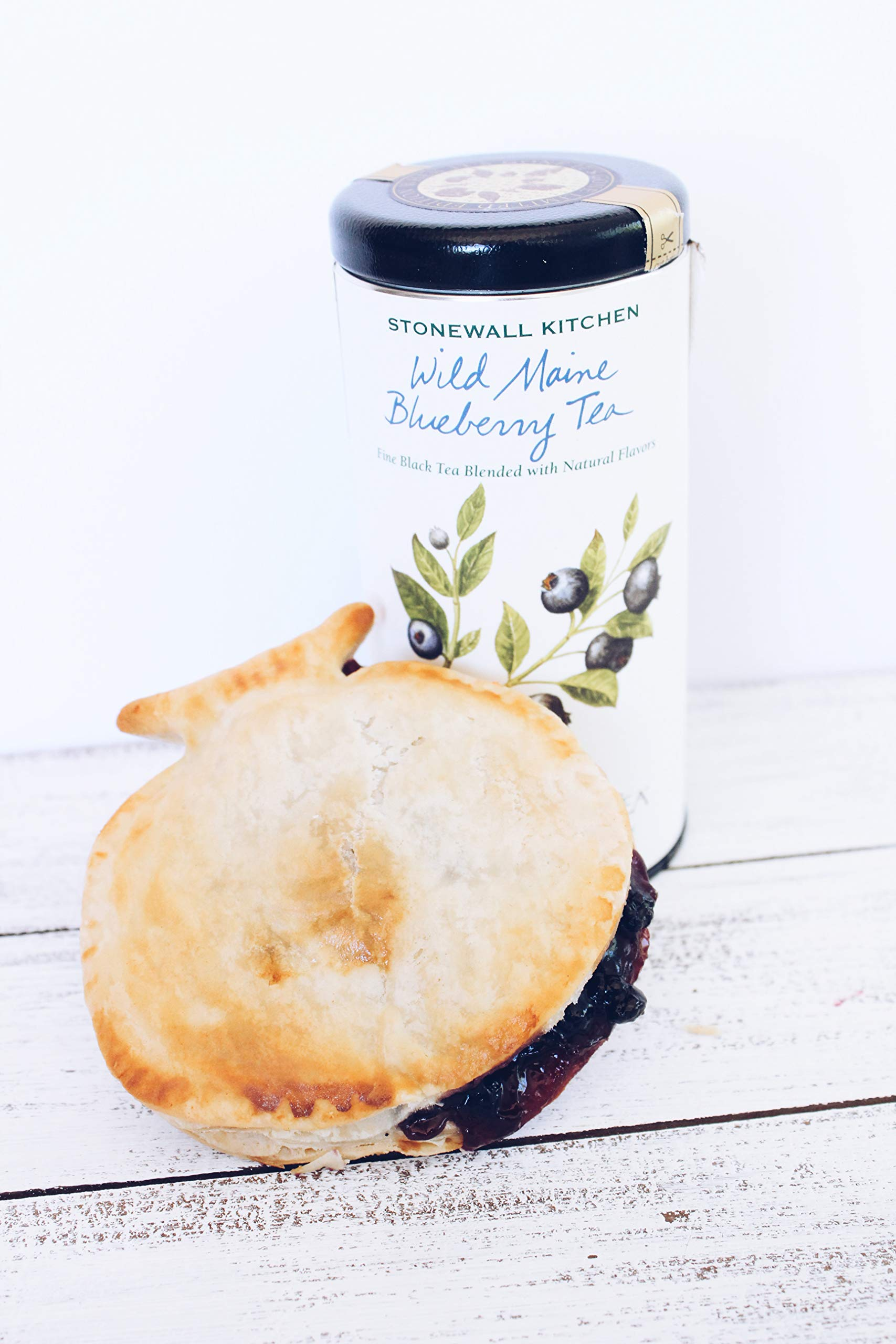 Mamie's 12 Pack Melt-in-Your-Mouth Single Serving Blueberry Pies, Individually Packaged 4.5oz Pocket Pies, Preservative Free, Shipped Frozen and Ready to Bake, Made in USA. by Mamie's Pies (Image #7)
