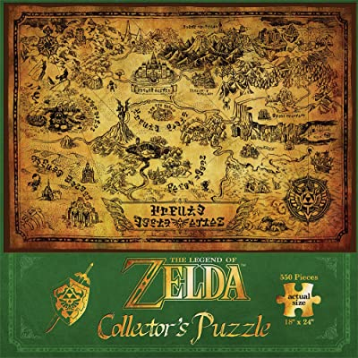 The Legend of Zelda Collector's Puzzle: Game: Toys & Games