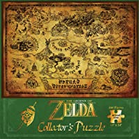USAopoly Puzzle: The Legend of Zelda Hyrule Map