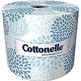 Cottonelle Bulk Toilet Paper (17713), Standard Toilet Paper Rolls, 2-PLY, White, 60 Rolls / Case, 451 Sheets / Roll