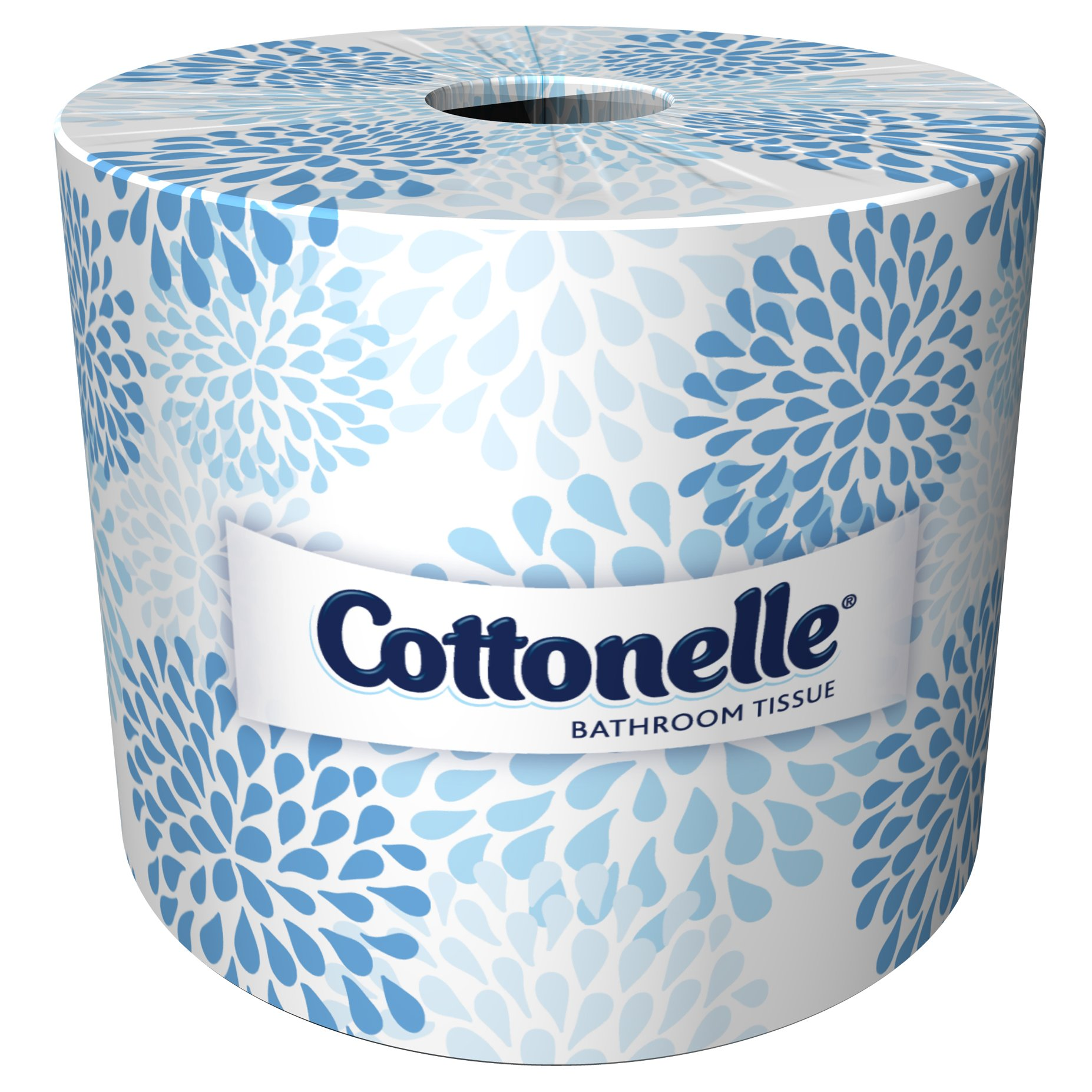 Cottonelle Professional  Bulk Toilet Paper for Business (17713), Standard Toilet Paper Rolls, 2-PLY, White, 60 Rolls / Case, 451 Sheets / Roll by Kimberly-Clark Professional