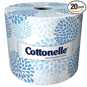 cottonelle 13135 two ply bathroom tissue 451 sheets per roll case of 20 - Bathroom Tissue