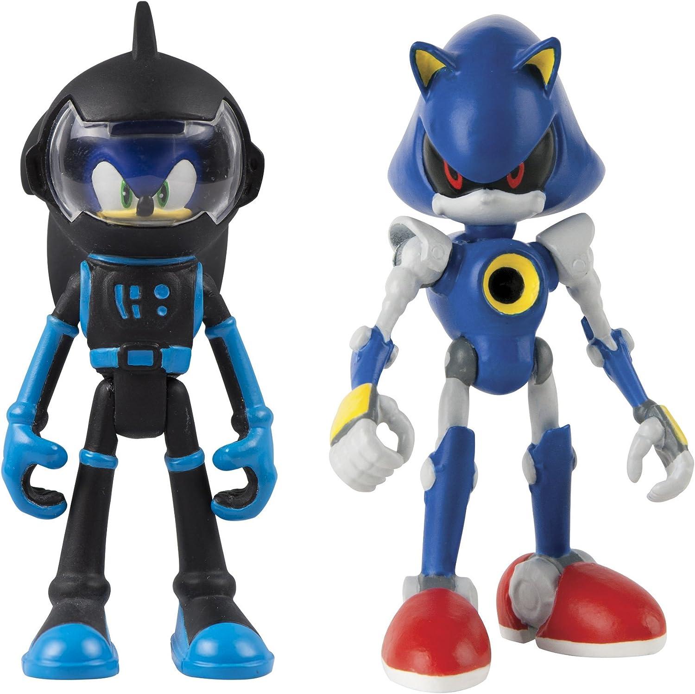 Amazon Com Sonic Tomy Boom 2 Figure Pack Spacesuit Sonic Metal