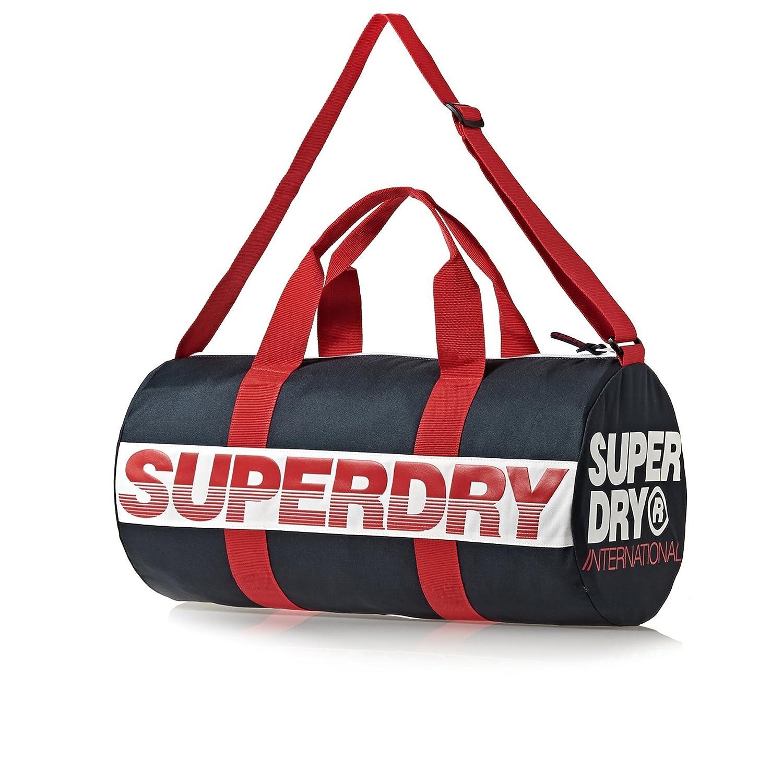 Superdry International Barrel Holdall Bag, Sports Duffle Gym Bag   Amazon.co.uk  Clothing 6e8c897eaa