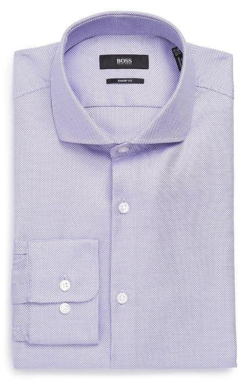 d54b34a6 Amazon.com: Hugo Boss Men's Mark Sharp Fit Dress Shirt: Clothing