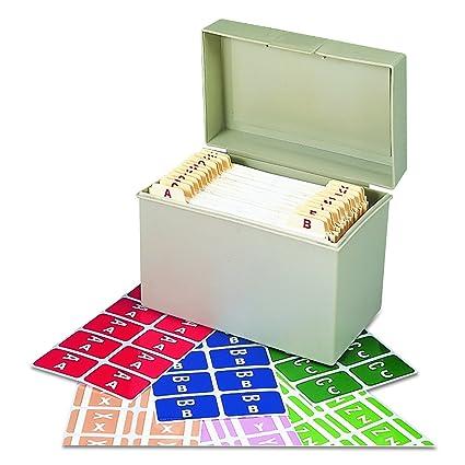 Smead 67170 Alpha Z Color Coded Second Letter Labels Starter Set, A Z (