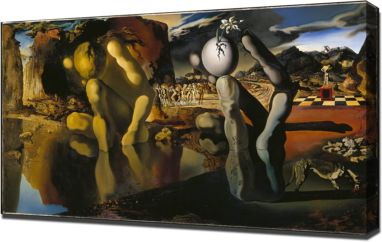 Kunstdruck 60 x 80 cm Dali Metamorphosis of Narcissus 1936-37