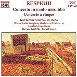 Respighi: Concerto In Modo Misolidio, Concerto a 5