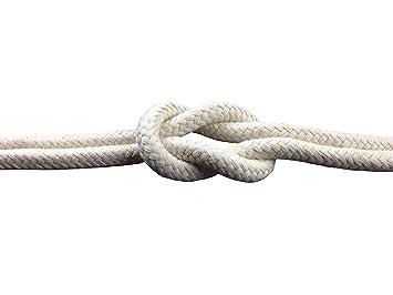 K Hummelt SilverLine-Rope Baumwollseil Baumwollkordel beige 12mm 10m Natur