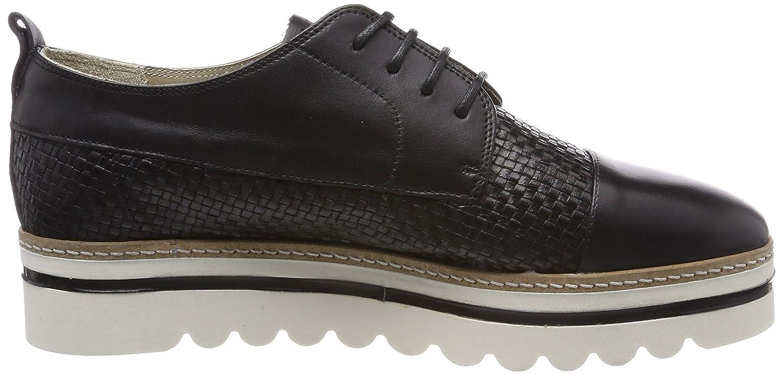 Marc O'Polo Damen Lace (schwarz) Up Schuhe 80114453401106 Oxfords Schwarz (schwarz) Lace 794a1c