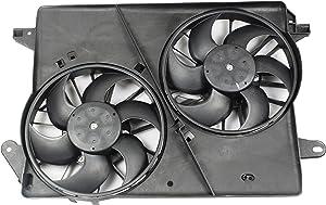 BOXI Dual Engine Cooling Fan Assembly For Dodge Challenger 2008-2010 / Chrysler 300 2005-2010 / Dodge Charger 2006-2010 / Dodge Magnum 2005-2008 5137714AA