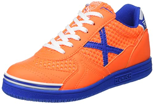 Munich G-3 Kid Breath, Zapatillas de Deporte Unisex Niños, Multicolor (Orange/Blue 829), 37 EU: Amazon.es: Zapatos y complementos
