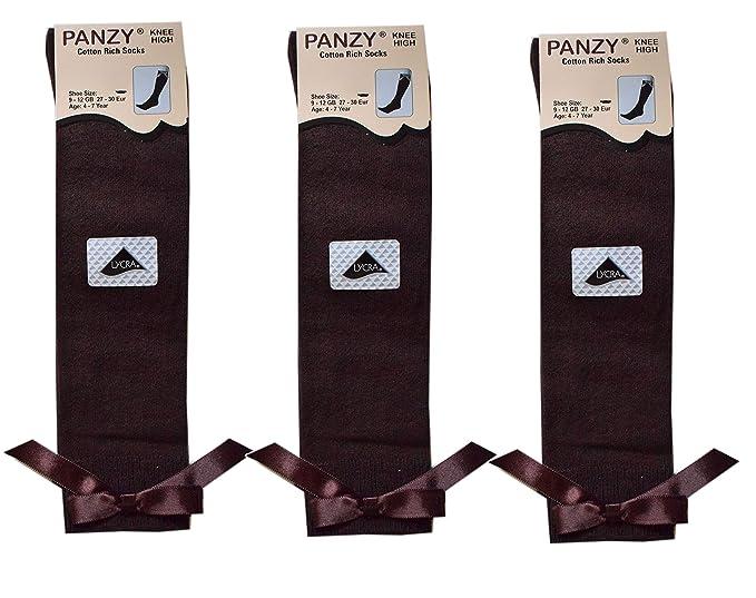 Panzy® Calcetines hasta la rodilla - para niña: Amazon.es: Ropa y accesorios